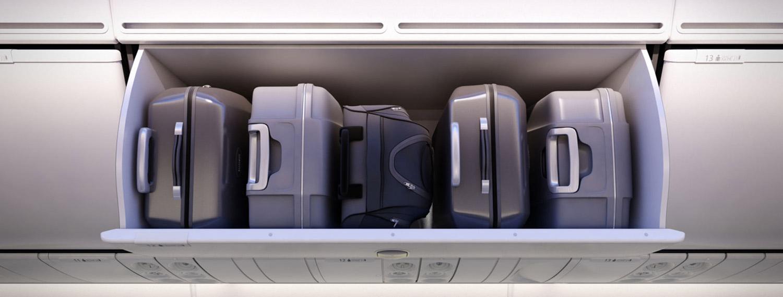 飞机行李舱图片